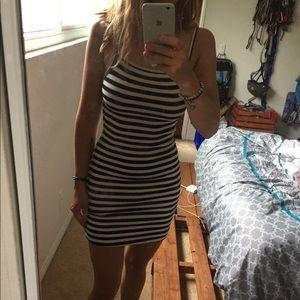 Billabong striped dress size small